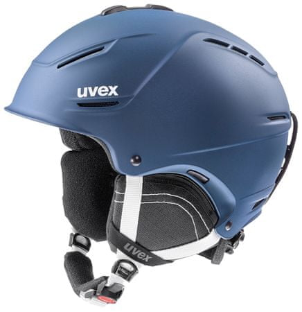 Uvex smučarska čelada P1US 2.0, mat modra, 55-59