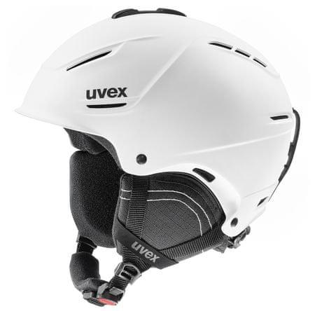 Uvex smučarska čelada P1US 2.0, mat bela, 59-62