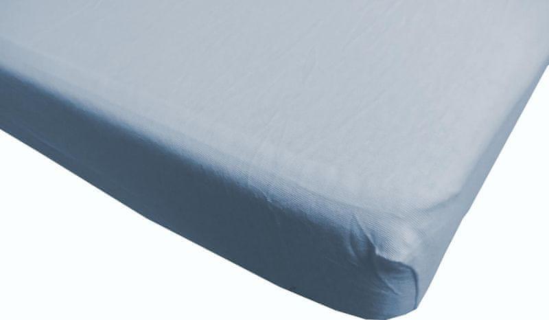 Jerry Fabrics prostěradlo s lycrou 180x200 modrá