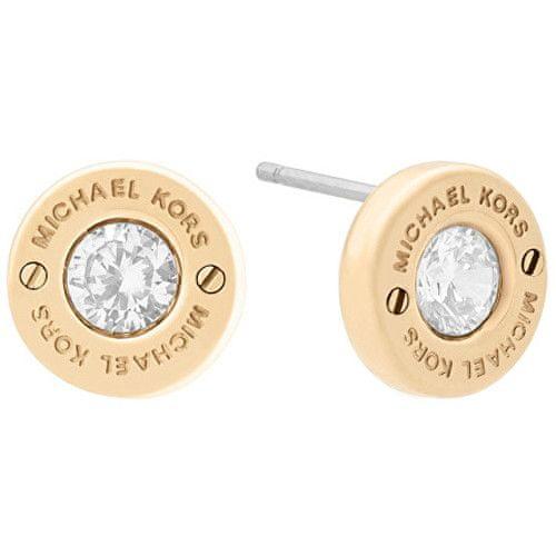 Michael Kors Pozlacené náušnice s krystalem MKJ6359710