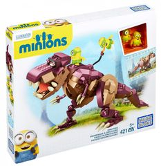 MEGA BLOKS Mimoňové Jízda na dinosaurovi
