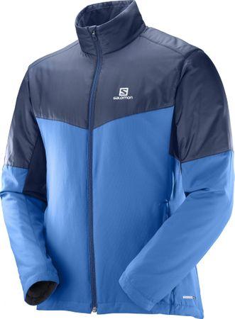 Salomon Escape Jkt M Myconos Blue/Dress Blue S