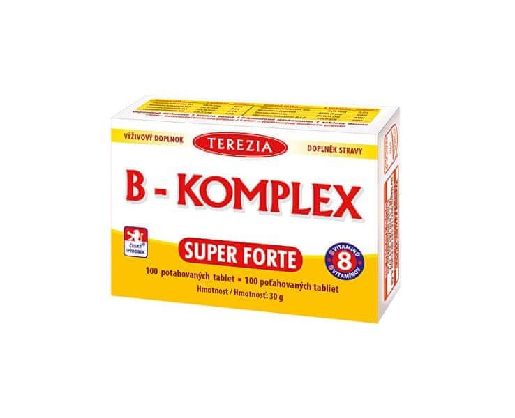 TEREZIA COMPANY B-komplex Super Forte 100 tablet