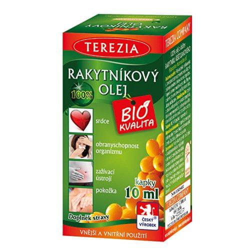 TEREZIA COMPANY 100% Rakytníkový olej v kapkách 10 ml