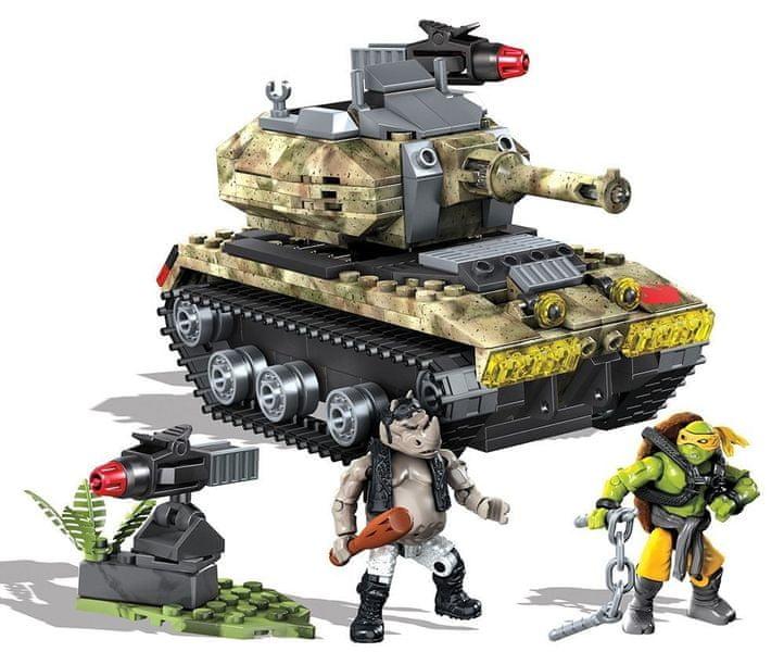 MEGA BLOKS Želvy Ninja - tank