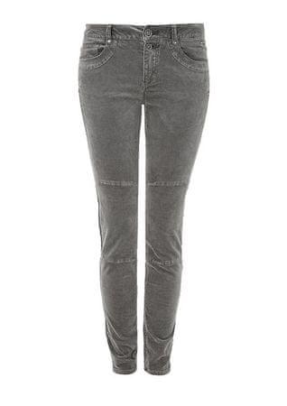 s.Oliver dámské jeansy skinny 42/32 šedá