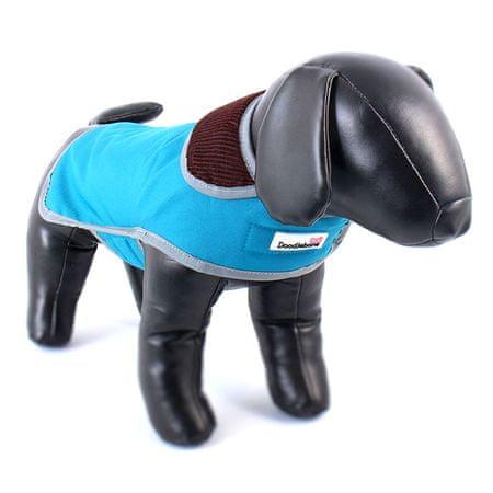 Doodlebone przeciwdeszczowy kubraczek dla psa blue rozm L
