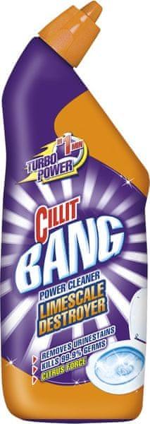 Cillit Bang WC Odstraňovač vodního kamene Citrus 750 ml