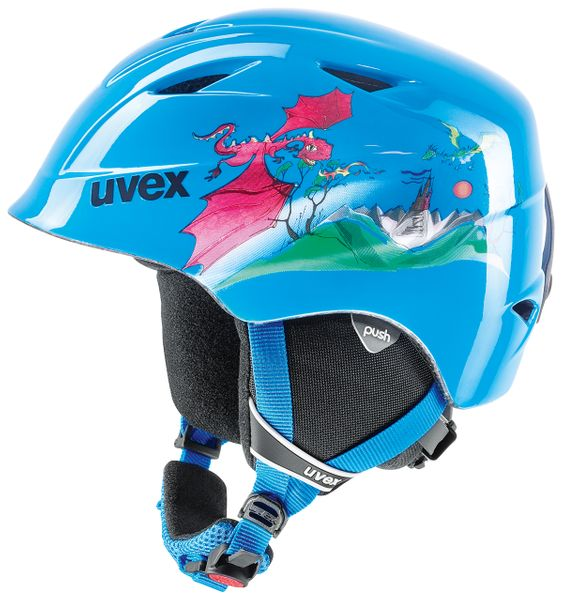 Uvex Airwing 2 Blue Dragon (46-50)