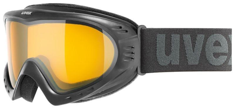 Uvex Cevron Black/Lasergold Lite (2029)