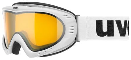 Uvex smučarska očala Cevron, bela