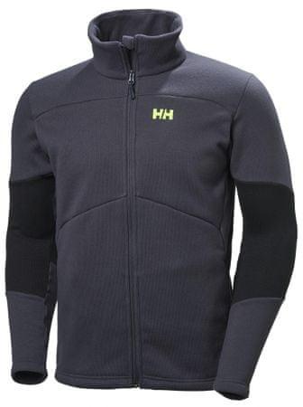 Helly Hansen bluza polarowa Eq Black Midlayer Jacket Graphite Blue XL