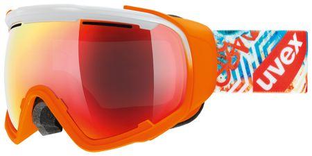 Uvex smučarska očala Jakk Sphere, oranžna