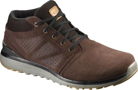 Salomon Utility Chukka Ts Wr Trophy Brown/Brown Black 42.7