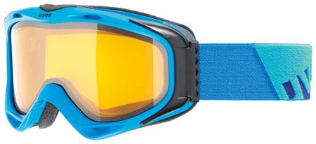 Uvex smučarska očala G.GL 300, modra