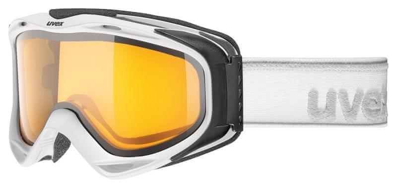Uvex G.GL 300 White Mat Double Lens/Lasergold Lite (1129)