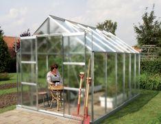 VITAVIA skleník VITAVIA URANUS 9900 matné sklo 4 mm stříbrný