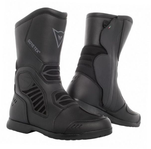 Dainese boty SOLARYS GORE-TEX vel.46 černá, kůže/textil