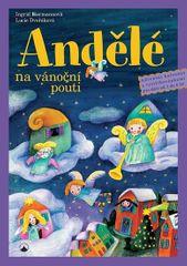 Biermannová Ingrid: Andělé na vánoční pouti - Adventní kalendář s vystřihovánkami pro děti od tří do