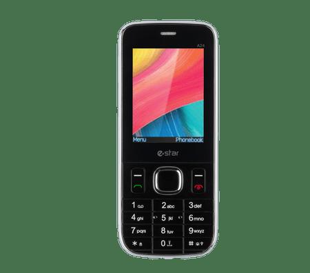 eSTAR A24 (2017), Dual SIM, černý