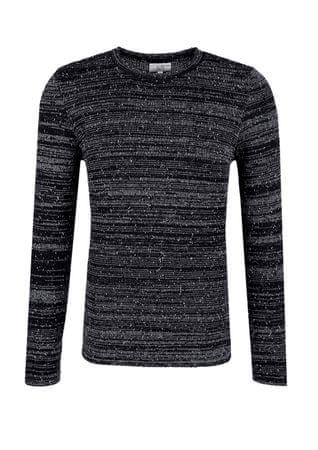s.Oliver pánský svetr L černá  9113f15078