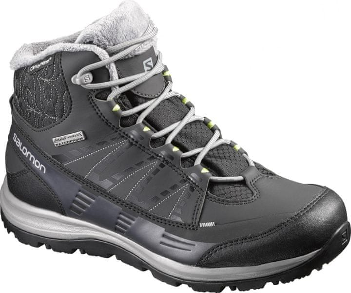 Salomon Kaïna Cs Wp 2 Black/Asphalt/Flashy-X 39.3
