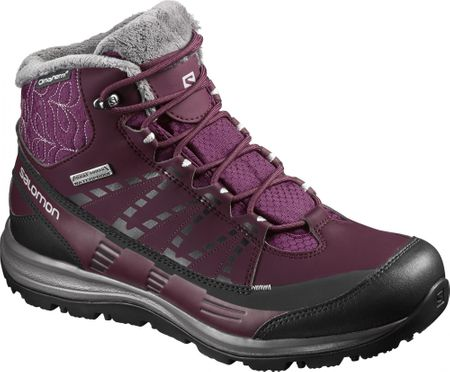 Salomon Kaïna Cs Wp 2 Bordeaux/P.Black/Al. 39.3