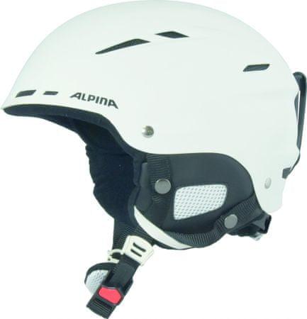 Alpina smučarska čelada Biom, mat bela, 58-62