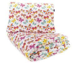 CuddlyZOO komplet kołdra + poduszka, roz. M, MOTYL