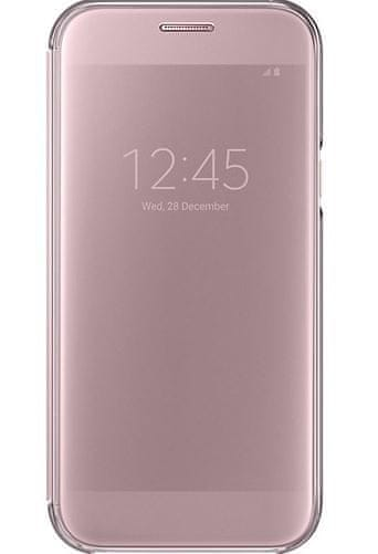 Samsung Samsung Clear View Cover pro A5 2017 Pink