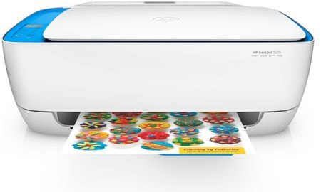 HP večfunkcijska naprava DeskJet 3639 All-in-One (YF5S43B), belo-moder