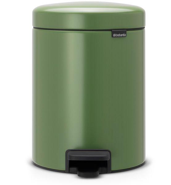 Brabantia Pedálový koš newIcon 5 l, mechově zelená