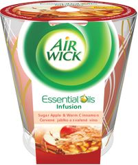 Air wick Sviečka Essential Oil Infusion Deco Červené jablko 105 g