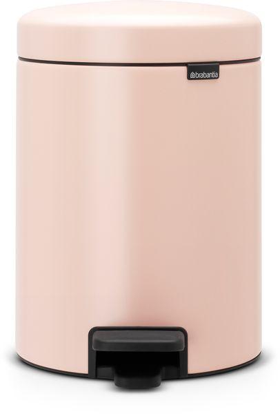 Brabantia Pedálový koš newIcon 5 l, světle růžová