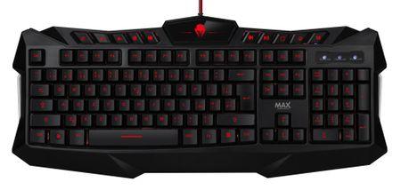 MAX klawiatura gamingowa MAX MGK2001B