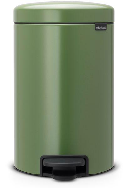 Brabantia Pedálový koš newIcon 12 l, mechově zelená