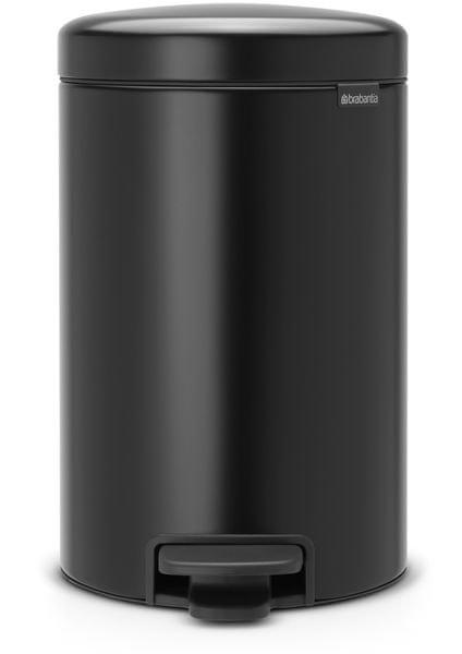 Brabantia Pedálový koš newIcon 12 l, matná černá