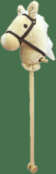 Alltoys Koňská hlava na tyči - béžová