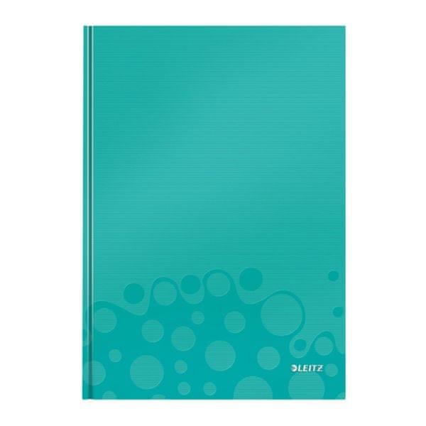 Zápisník Leitz WOW A4 linkovaný modrý