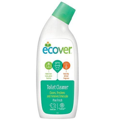 Ecover Tekutý čistící prostředek na WC s vůní borovice a máty 750 ml