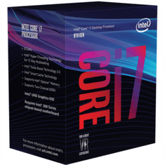 Intel procesor i7-8700 BOX, Coffee Lake