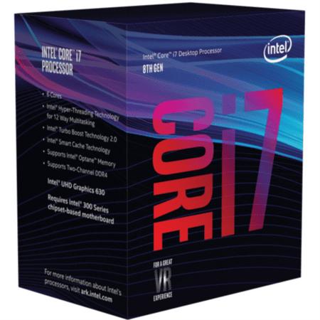 Intel procesor i7-8700K BOX, Coffee Lake