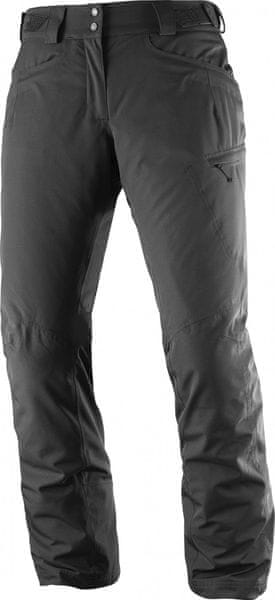 Salomon Fantasy Pant W Black Heather L/S