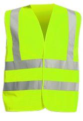 Cerva Reflexná pracovná vesta Quoll letná žltá L