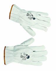 Free Hand Kožené pracovné rukavice Pallida 8 8e6132cd7b