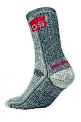 Otto Schachner Funkčné merino ponožky Hammel čierna 39-40