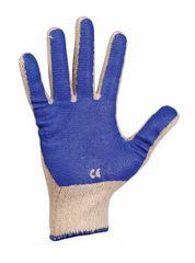 Červa Pletené PVC pracovné rukavice Scoter 10