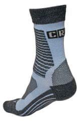 CRV Ponožky merino Melnick modrá 45-46