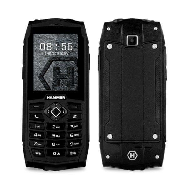 myPhone HAMMER 3+, DualSIM, černý