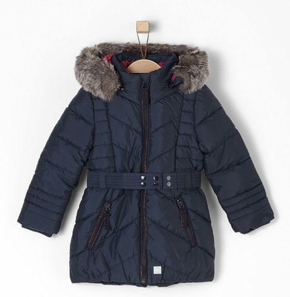 s.Oliver dívčí kabát 122 modrá